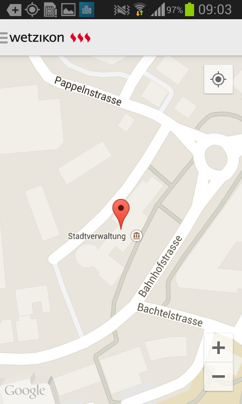 Stadt Wetzikon- screenshot
