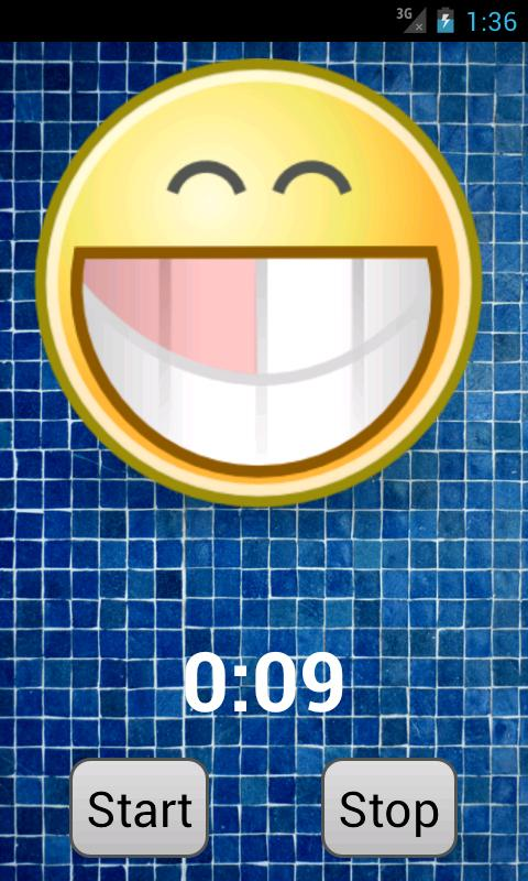 Toothbrush timer- screenshot