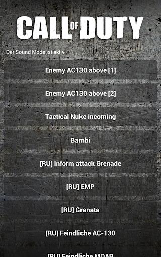 Call of Duty Soundboard