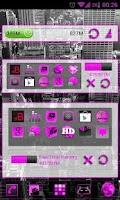 Screenshot of GOWidget Pink ICS Light Free