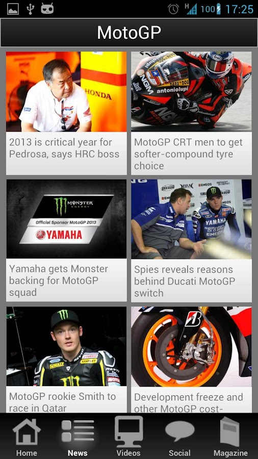 Bikesport News Uk BikeSport News screenshot