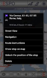 ESPO AdFree - Route Planner screenshot 5