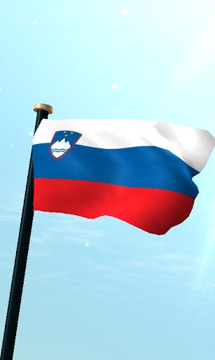 斯洛文尼亞旗3D免費動態桌布