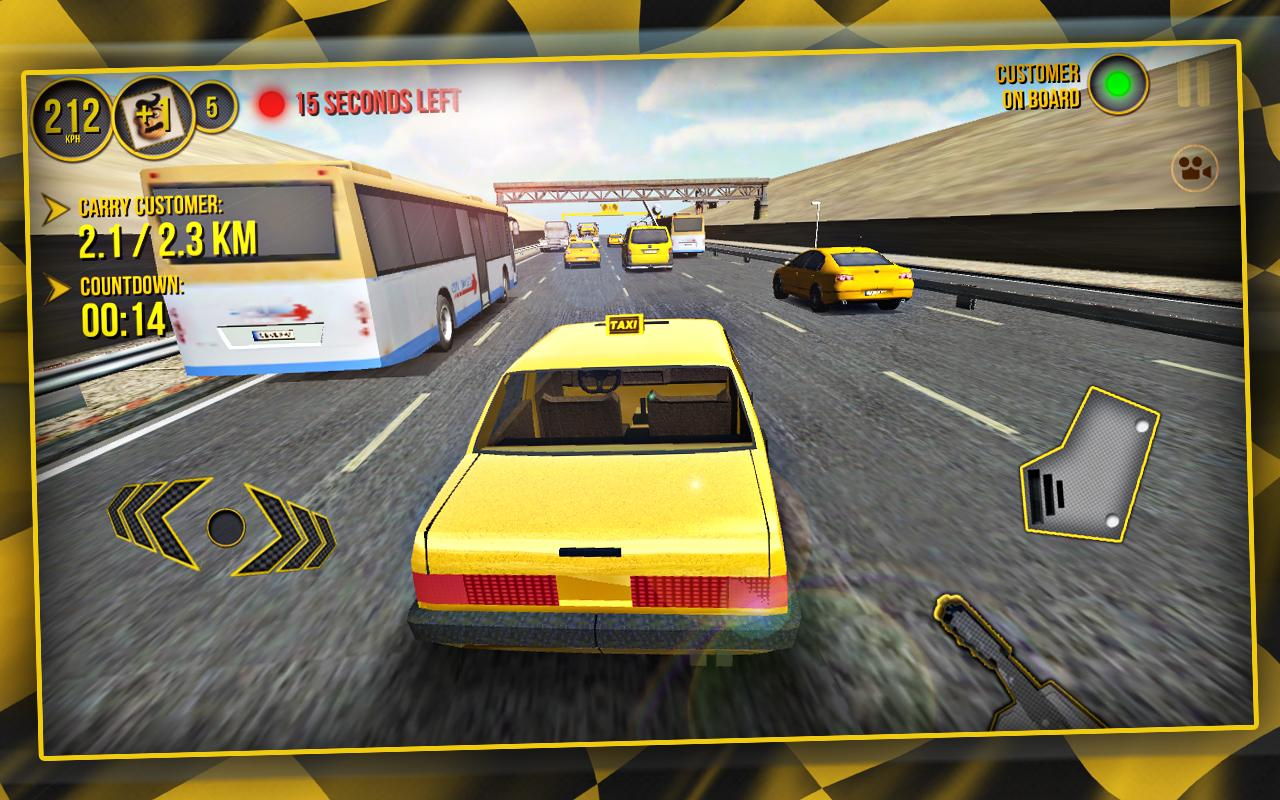 Taxi Car Simulator 3D- screenshot