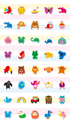 玩個人化App|yuruanimal Theme免費|APP試玩