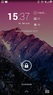 DashClock What App Screenshot