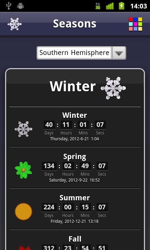 Seasons Free- screenshot