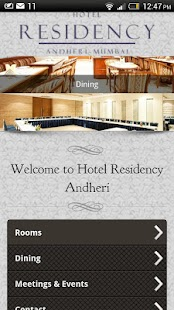Hotel Residency Mumbai- screenshot thumbnail