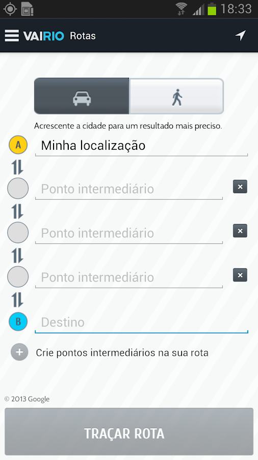 Trânsito Rio - VaiRio O Globo - screenshot
