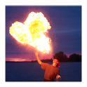 Blow Fireballs Prank icon