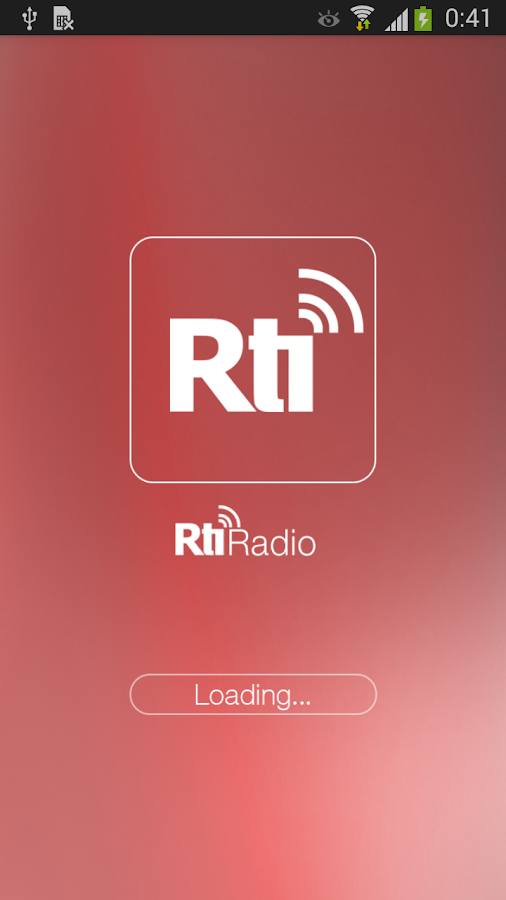 RTI Radio- screenshot