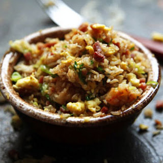 Fried Rice with Ham.