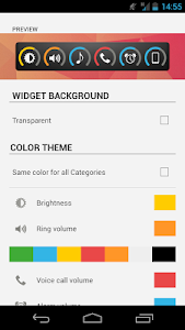 Slider Widget - Volumes screenshot 6