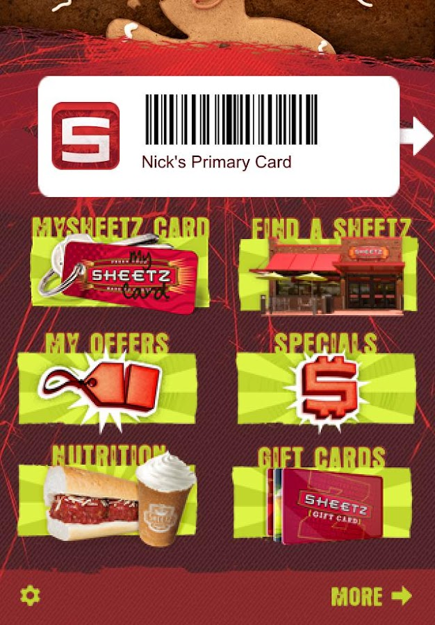Sheetz®- screenshot