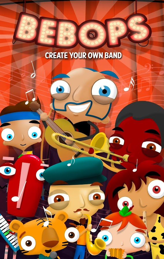 BEBOPS - Create your own Band - screenshot