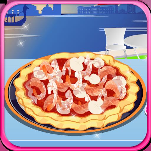 海鮮比薩烹飪遊戲 LOGO-APP點子