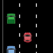 car racing game top down 2D