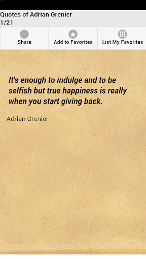 Quotes of Adrian Grenier