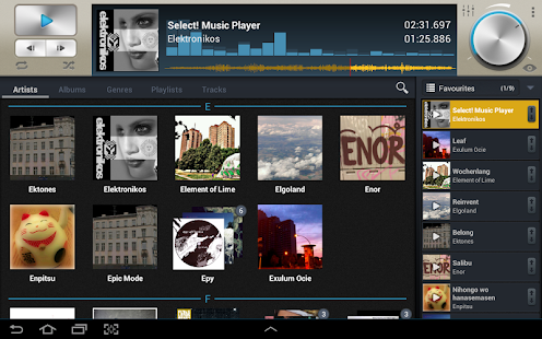Select! Music Player Pro - screenshot thumbnail