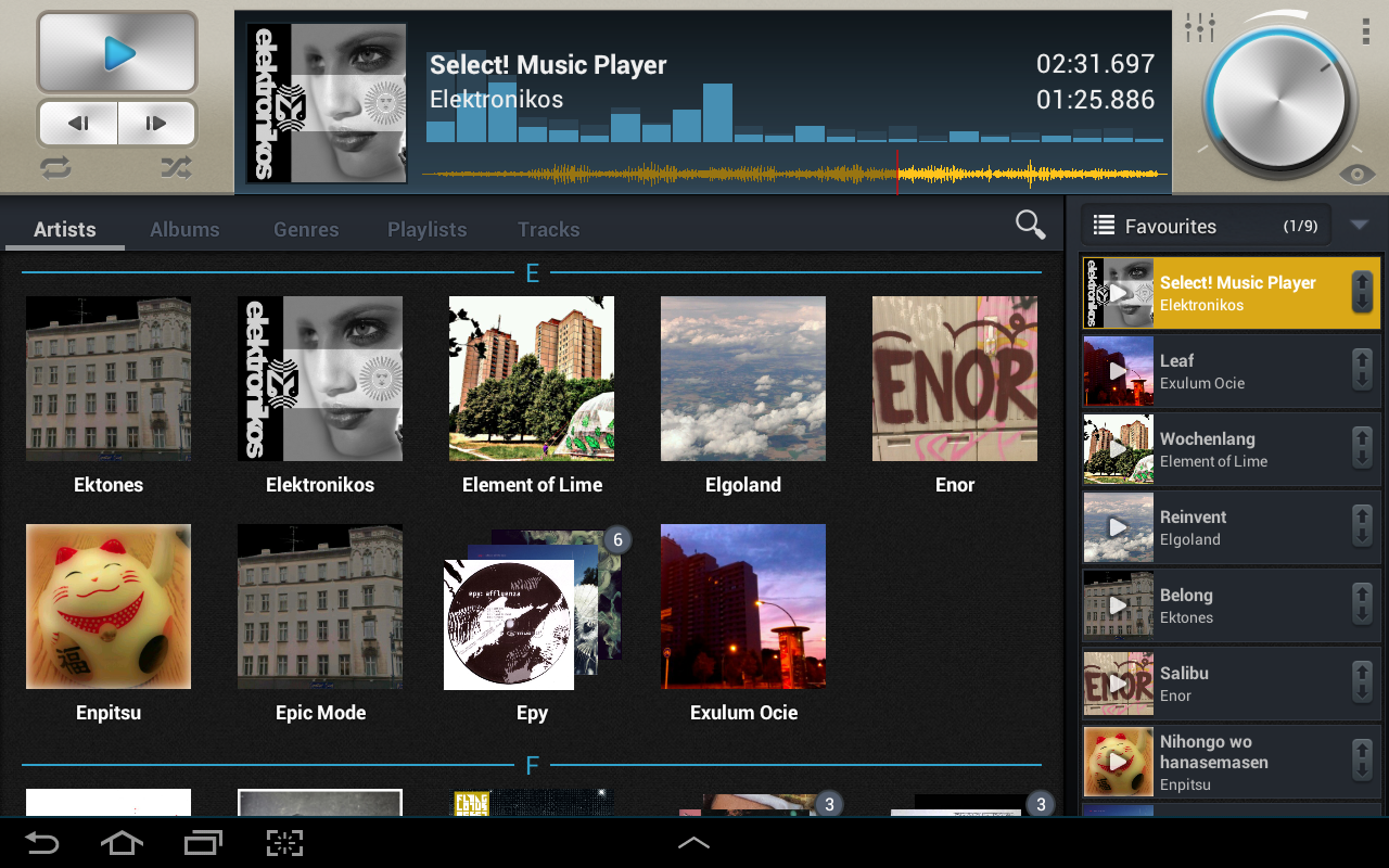 Select Music Player Pro Google Play Á� Android Â�プリ