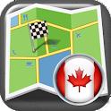 Canada Offline Navigation icon