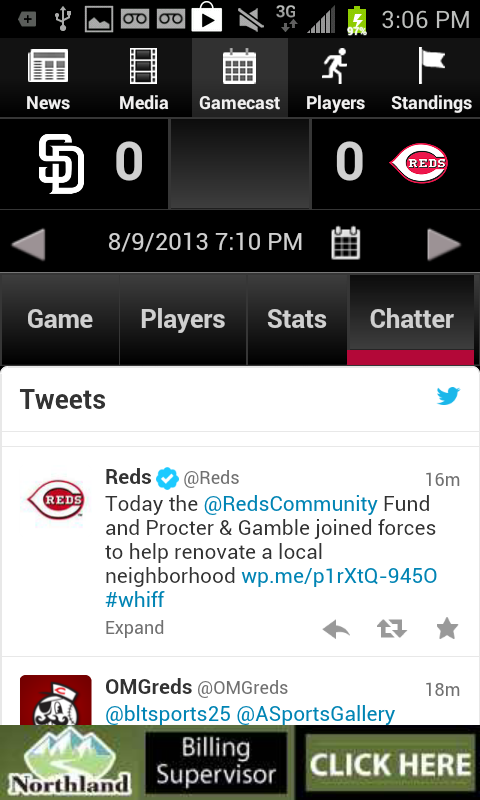 Cincinnati.Com Reds Baseball - screenshot