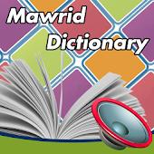 Talking Al-Mawrid Dictionary