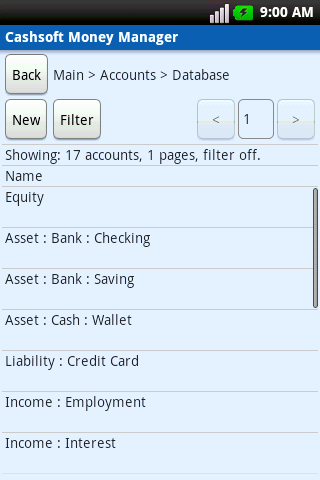 Cashsoft® Accounting Software* - screenshot