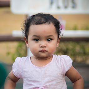 Sweet Girl by Eddy Ahmad - Babies & Children Child Portraits ( bloggerphotog, photog, photokids )