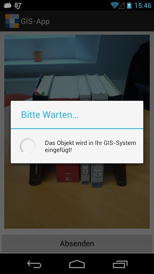 GIS-App - screenshot