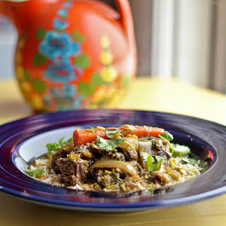 Indian Inspired Braised Beef Curry.