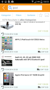 ricardo.ch- screenshot thumbnail