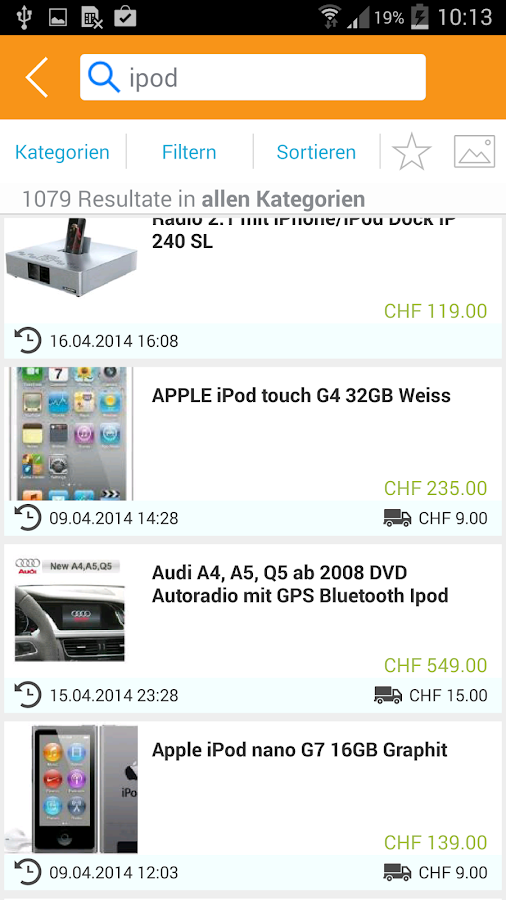 ricardo.ch- screenshot