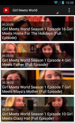 Channel Of Girl Meets World - screenshot