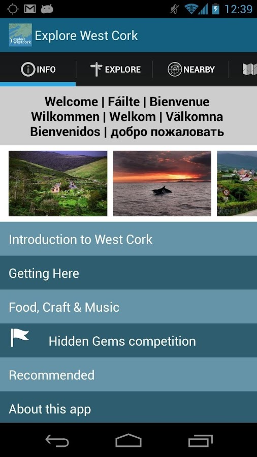 Explore West Cork - screenshot