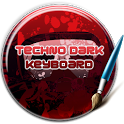 Techno Dark Keyboard icon