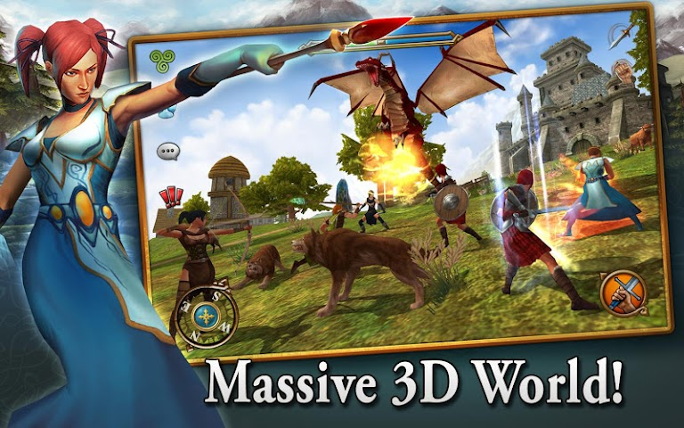 android 3D MMO Celtic Heroes Screenshot 12