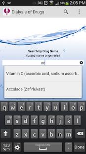 Dialysis of Drugs - screenshot thumbnail