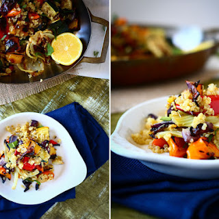Roasted Veggie Quinoa Salad.