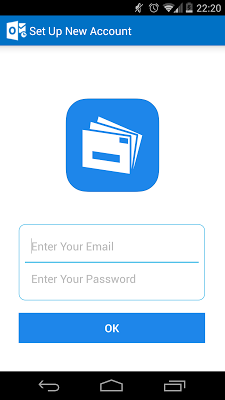 QuickMail—Outlook Sync - screenshot