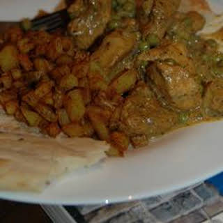 Spicy Dry Fried Curry Chicken.