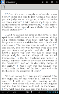 Super NWT Bible - screenshot thumbnail