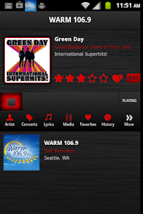 Warm 106.9 - screenshot thumbnail