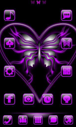 Butterflyglow2 GoLauncherTheme