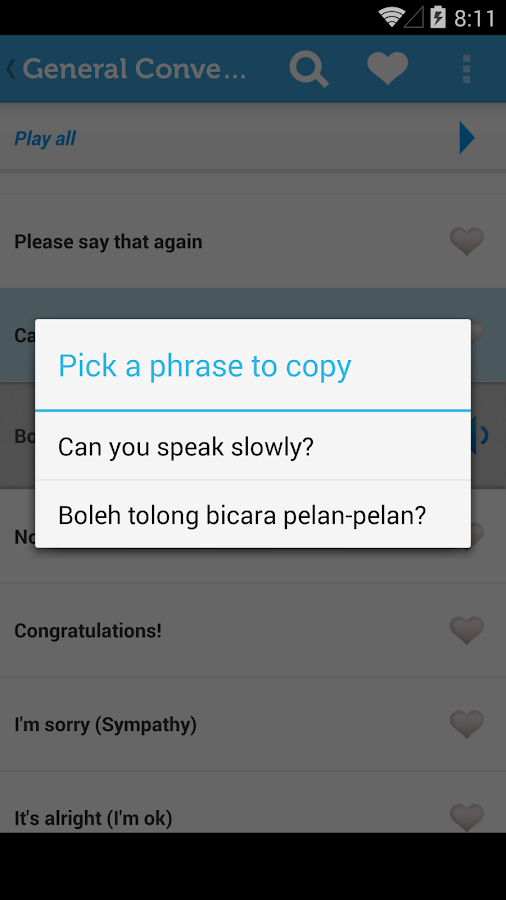 Learn Bahasa Indonesian - screenshot