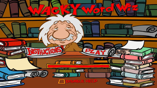 Wacky Word Search And Quiz