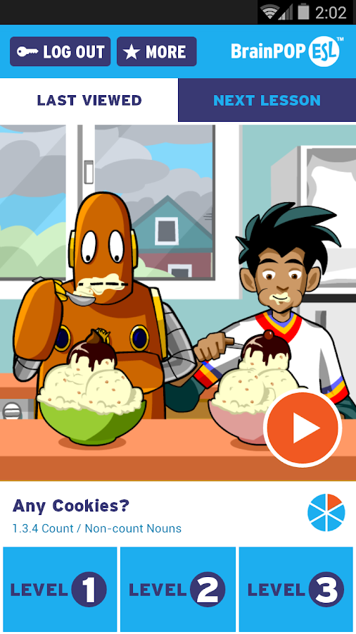 BrainPOP ESL- screenshot