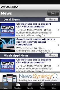 WTVA News - screenshot thumbnail