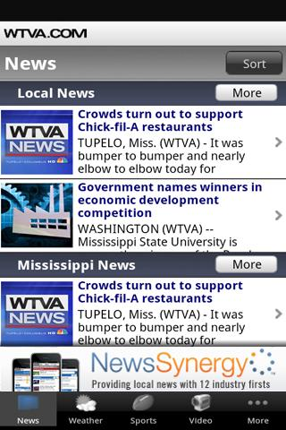 WTVA News - screenshot