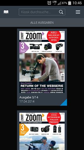 zoom Magazin der Filmemacher